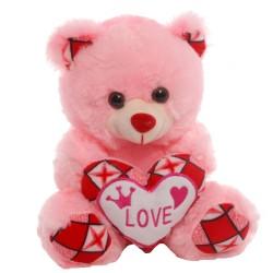 М'яка іграшка Ведмедик із сердечком