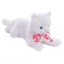 М'яка іграшка Котик Сніжок