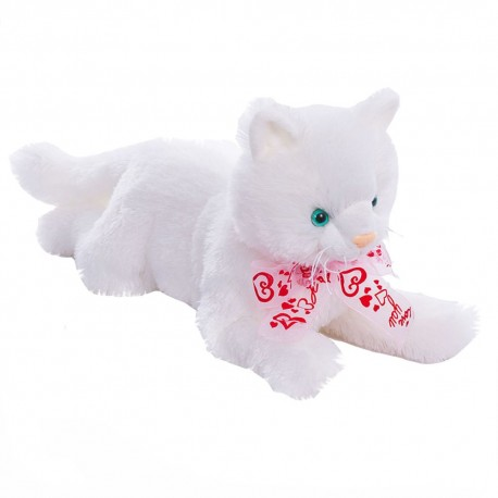 Мягкая игрушка Котик Снежок