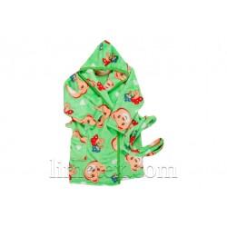 Цветной халат для детей