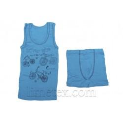 Комплект нижнего белья для мальчика (майка,трусы-боксеры)